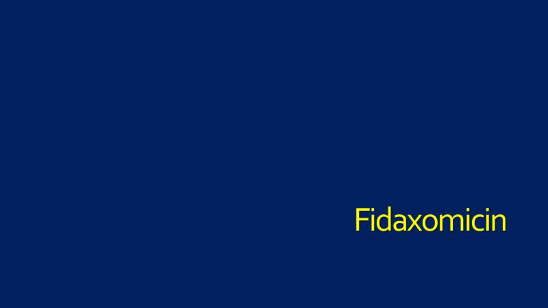 Fidaxomicin-Practitioner
