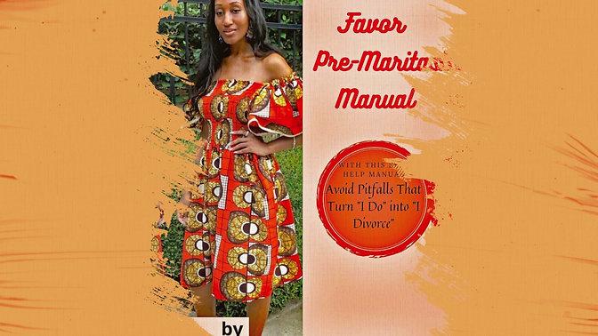 Pre-Marital Manual