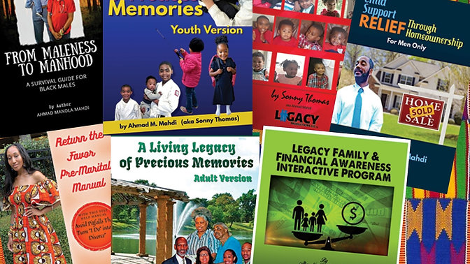 Legacy Productions Published Books
