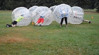 Montréal bubble soccer