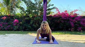 Aerial Yin Yoga class 2 IN ENGLISH