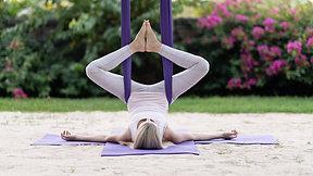 Aerial Yin Yoga class 1 IN ENGLISH