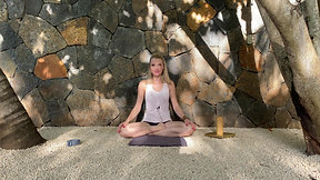 Yin Yoga with a Wall