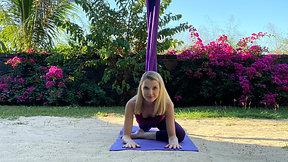 Aerial Yin Yoga class 2 EN FRANÇAIS