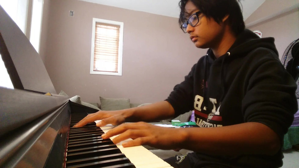 Marcel's Piano Cover of River Flows in You by Yiruma