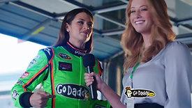 GoDaddy - Danica Patrick Interview