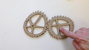 Irregular gears - first test