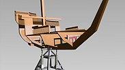 "Kubo Boat ""Duopod"" design"