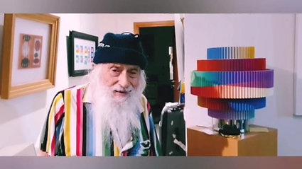 YAACOV AGAM De son salon en Israël au salon Agam du Centre Pompidou...