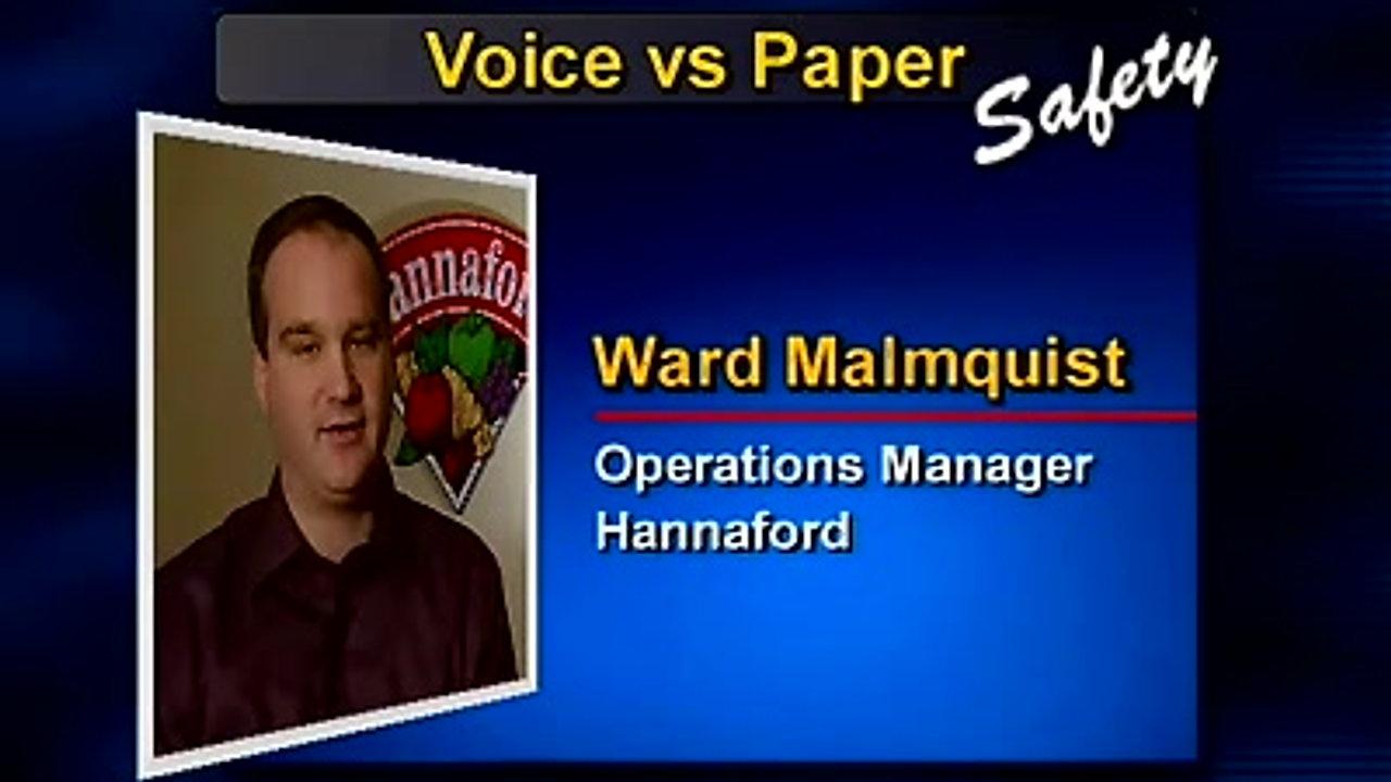 Vocollect: Voice vs Paper