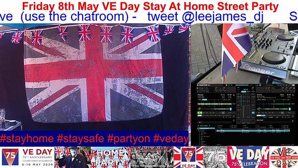 VE Day Lockdown Party 4
