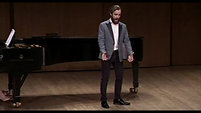 Theo Hoffman sings Pierrot's Tanzlied at the Richard Tucker Music Foundation 2018 Auditions (Winner)