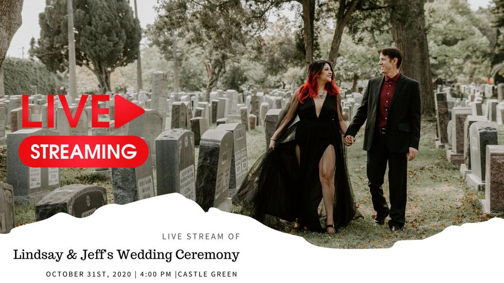 Jeff & Lindsay Wedding Ceremony | Castle Green Pasadena