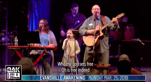 Dr. Craig Wesley Rench • 10am Monday • Evansville Awakening - Mar. 25, 2019