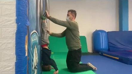 coaching gymnastics