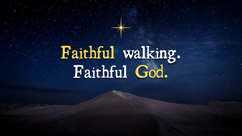 Faithful Walking Faithful God Series
