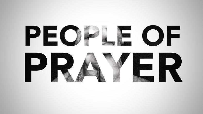 People of Prayer Series