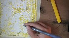 Bubble Wrap Art (Bees)