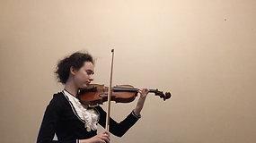 Cyria Kukulska (skrzypce) - Messenet Medytacje