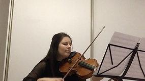 Barbara Olearczyk (altówka) - Bach Suita nr 2 Sarabanda