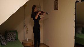 Natalia Kalinowska (skrzypce) - Paganini Kaprys17