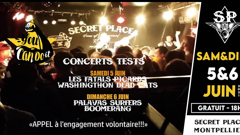 ACTUALITES DE LA SECRET PLACE