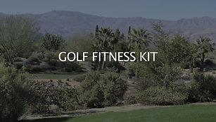 GOLF FITNESS KIT CONTENTS