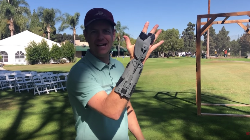 This Training Aid LOCKS your WRISTS into the right position! DOES IT WORK_