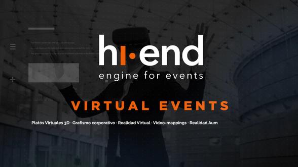 HI END: Virtual Events