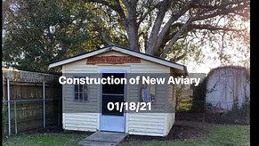 New Rehab Aviary Part One