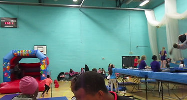 Our sister company Trampoline Easter Party