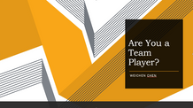 How to be a Better Team Player
