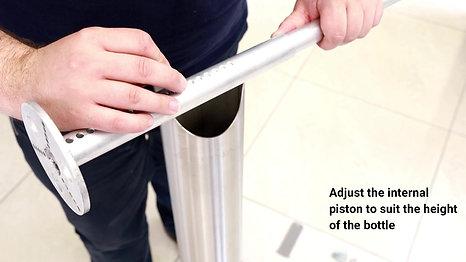 Ilona Dispenser Assembly Instructions