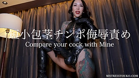 Compare your cock with Mine sample