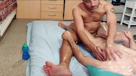 Sensual energy massage