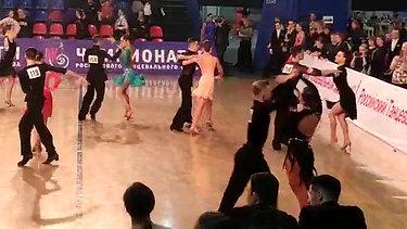Андрей и Юля ЧР 2019