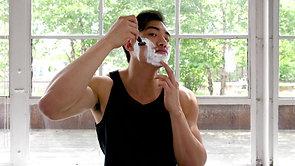 Skin Regimen Shaving Gel_Tutorial