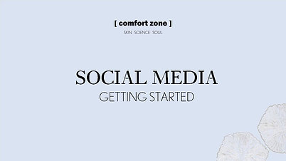 Social Media: Getting Strated