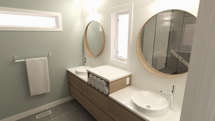 Spruce Grove Ensuite Renovation