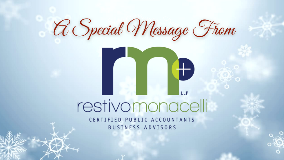 Holiday Holidays From Restivo Monacelli