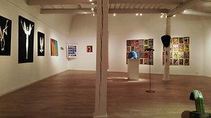Exhibition at Karlshamns konsthall december 2020