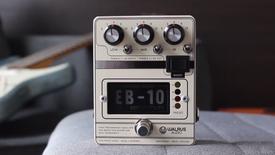 Walrus Audio EB-10 Preamp / EQ / Boost - Demo