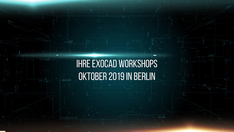 exocad Workshops im Oktober 2019 in Berlin