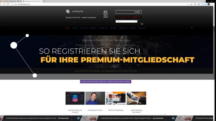 Anleitung zur Registrierung und Nutzung unserer Lernvideos im Rahmen der Premium-Mitgliedschaft