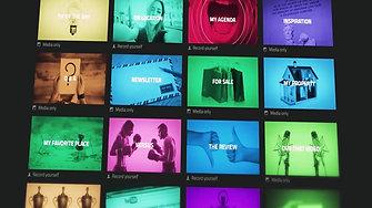 Presentation movie 2016 | Concept, Motion graphics