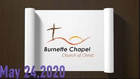 5-24-2020 Sermon