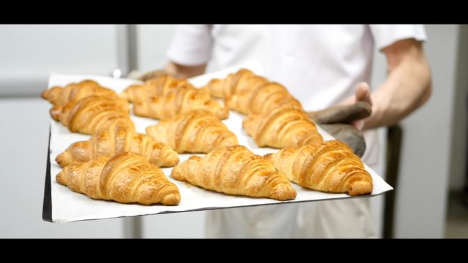 Le croissant de la Boulangerie du Letty