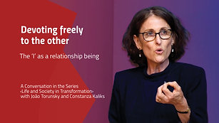 Devoting freely to the other – The 'I' as a relationship being
