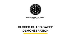 Skill 3: Closed Guard Sweep