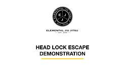 Skill 2: Head Lock Escape